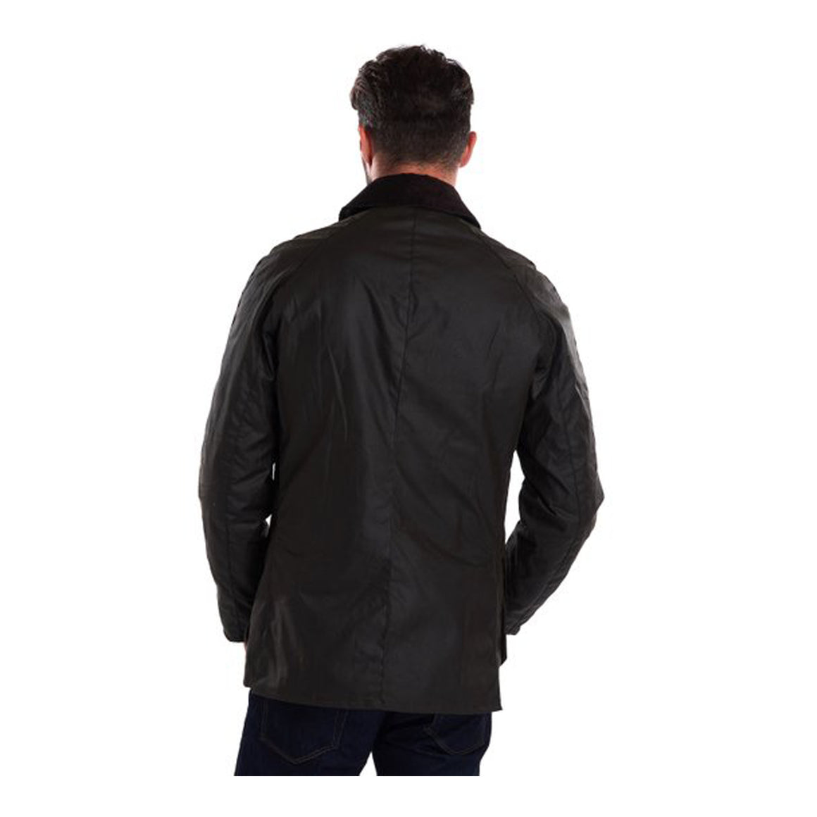 Ashby Wax Jacket for Men in Olive