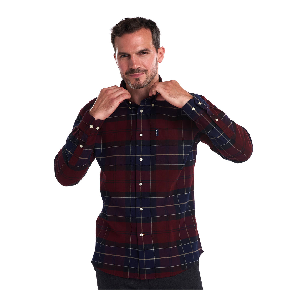 Lustleigh Shirt for Men in Merlot