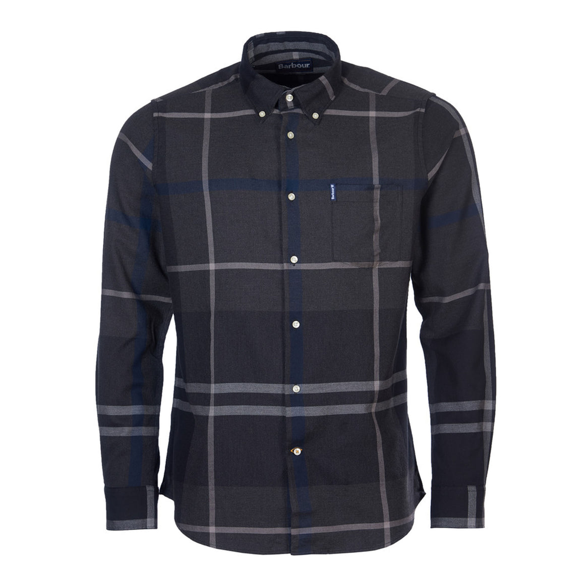 Dunoon Shirt for Men in Graphite