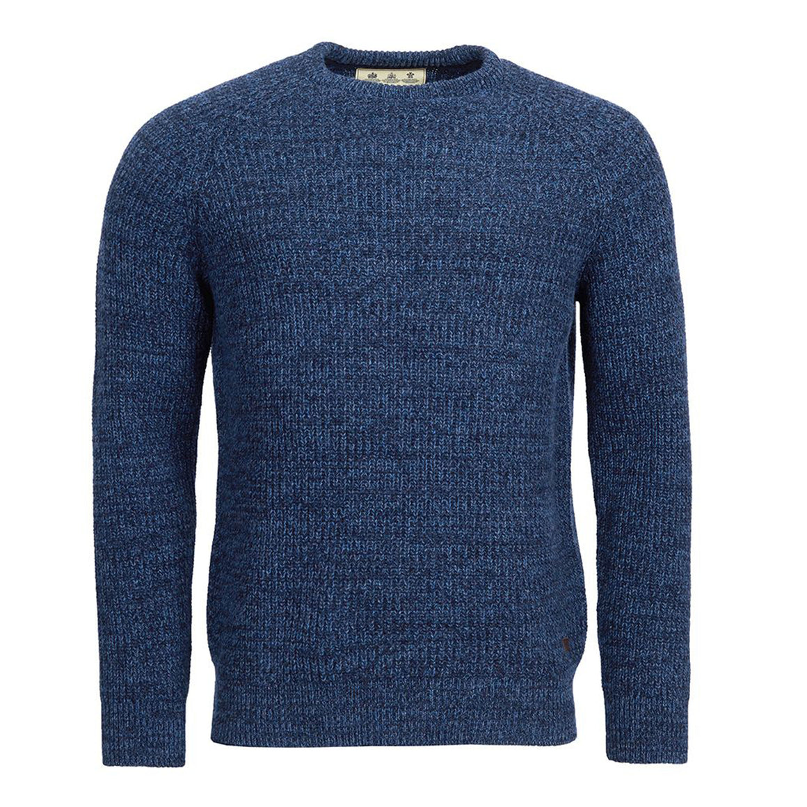 Horseford Crew Sweater for Men in Navy