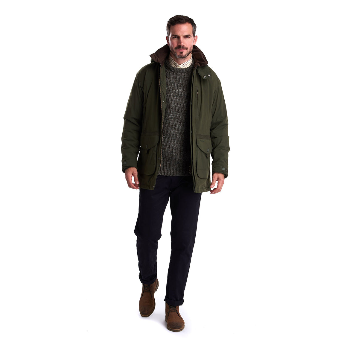 Brandsdale Jacket for Men in Forest Green
