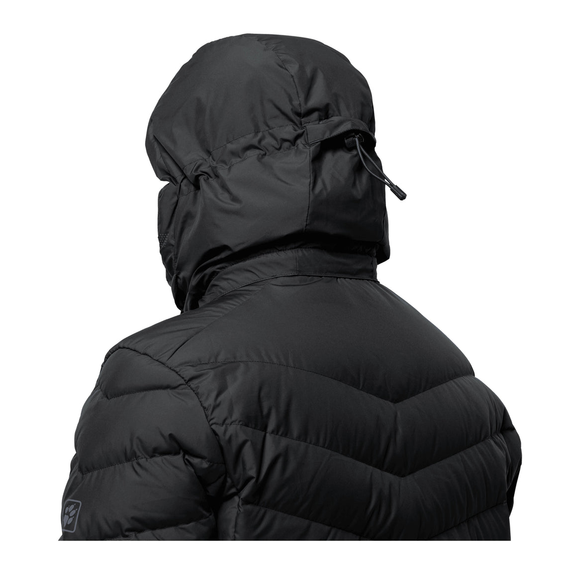 Fairmount Men Windproof Down Jacket in Black
