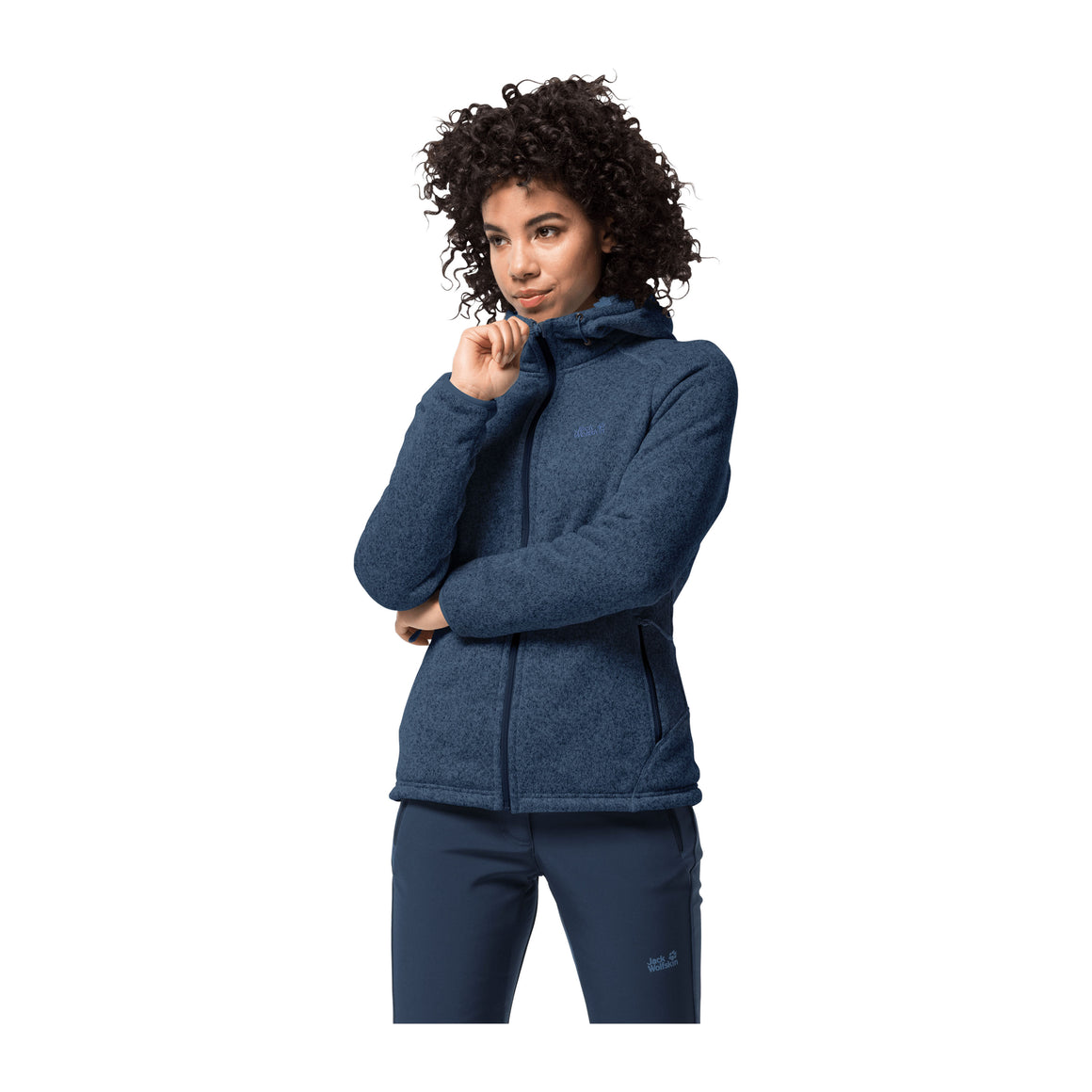 Lakland Fleece Jacket for Women in Dark Indigo