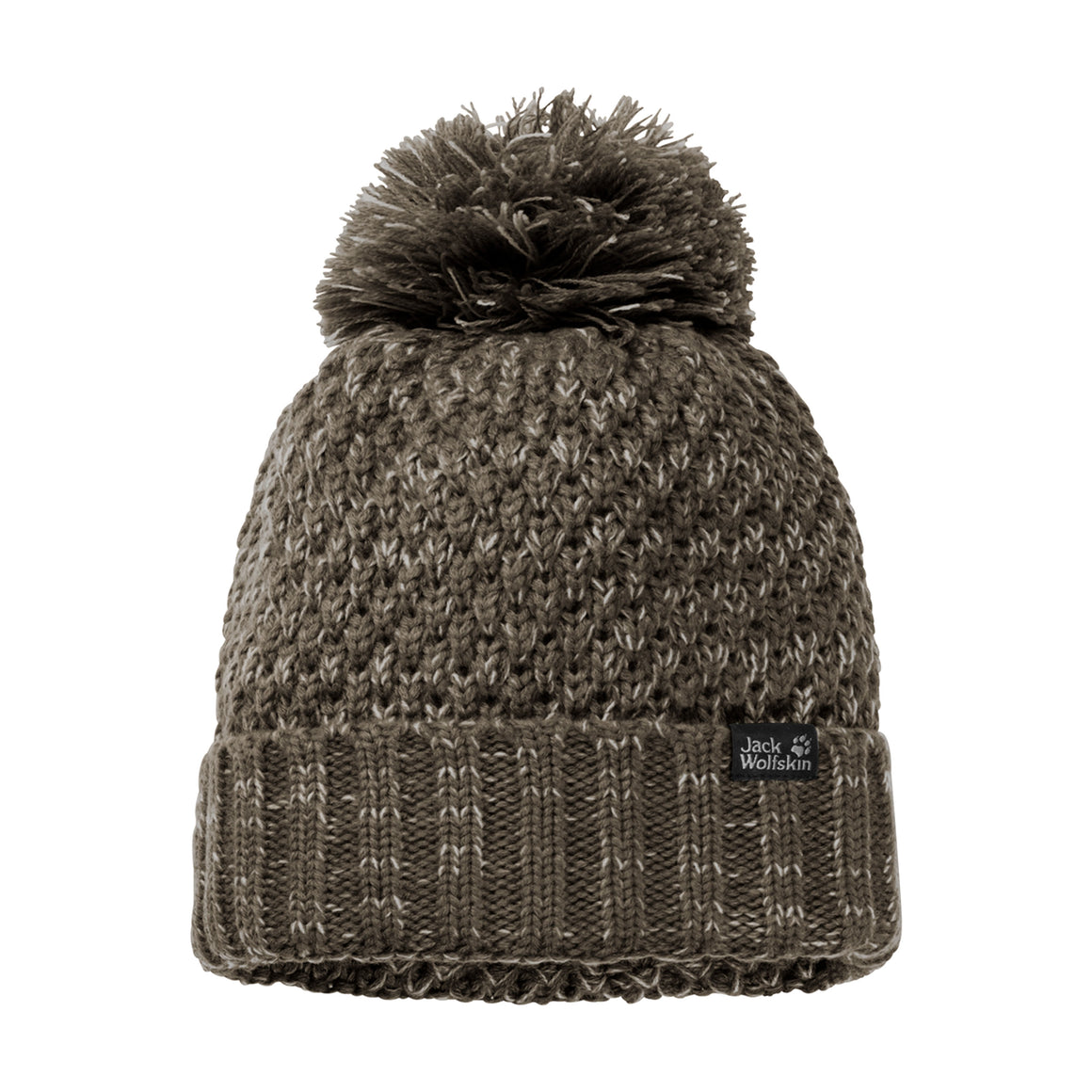 Highloft Knit Cap for Women in Granite