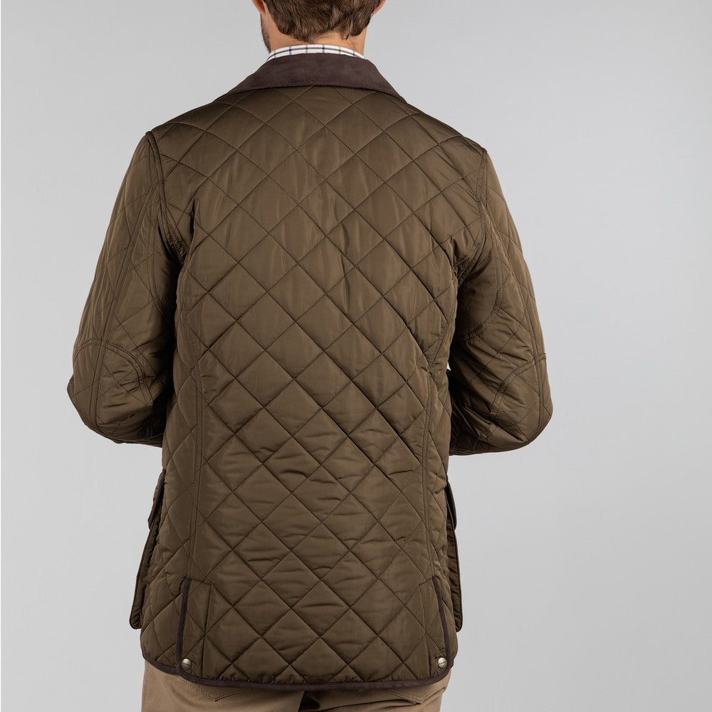 Barrowden Quilt Jacket for Men in Olive
