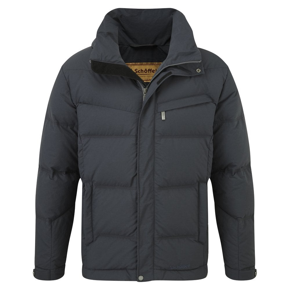 Twickenham Down Coat for Men in Charcoal