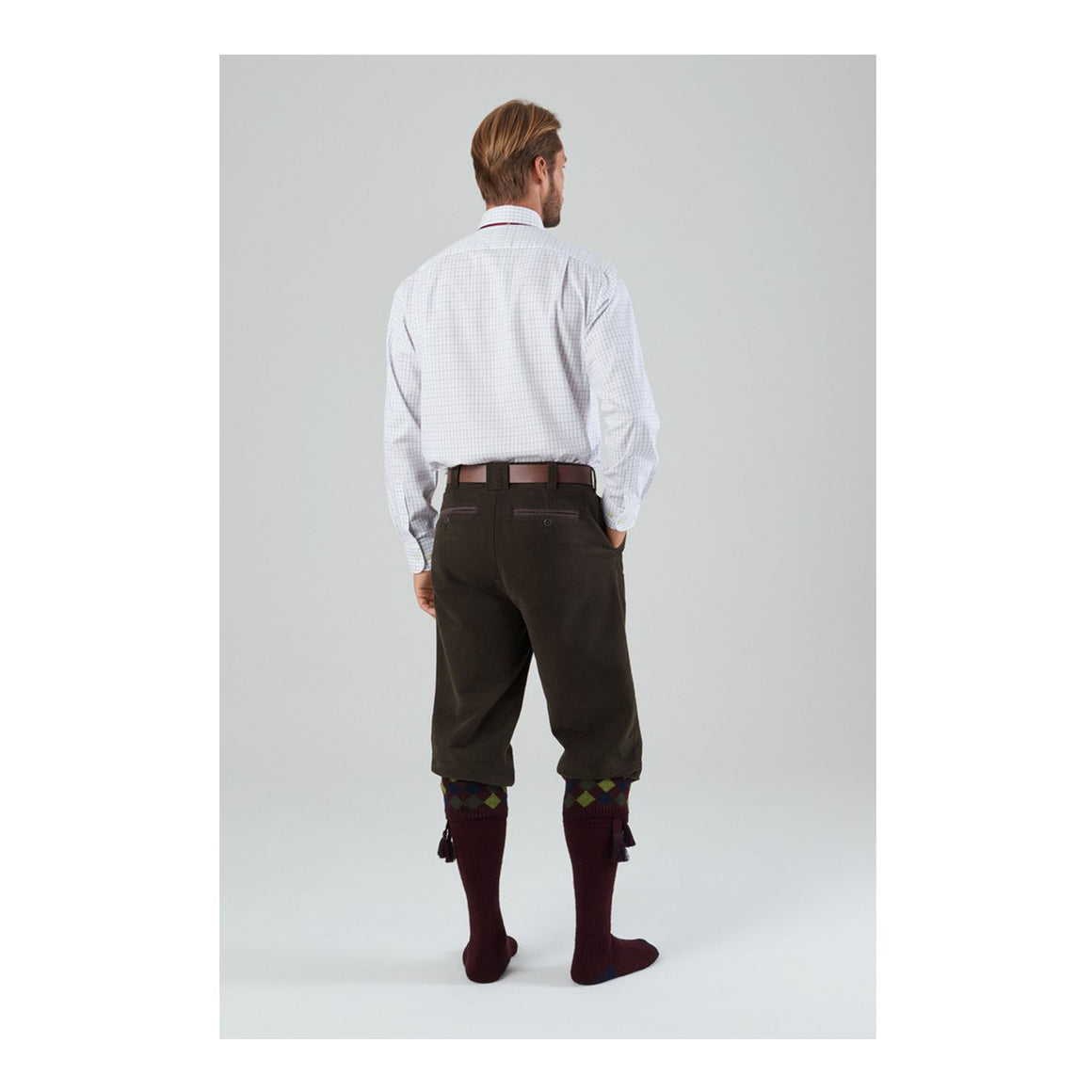 Moleskin Breeks for Men in Forest