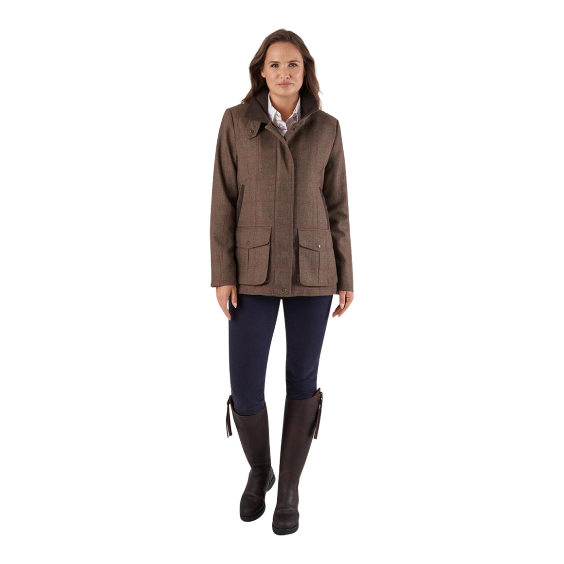 Lilymere Jacket for Women in Sussex Tweed