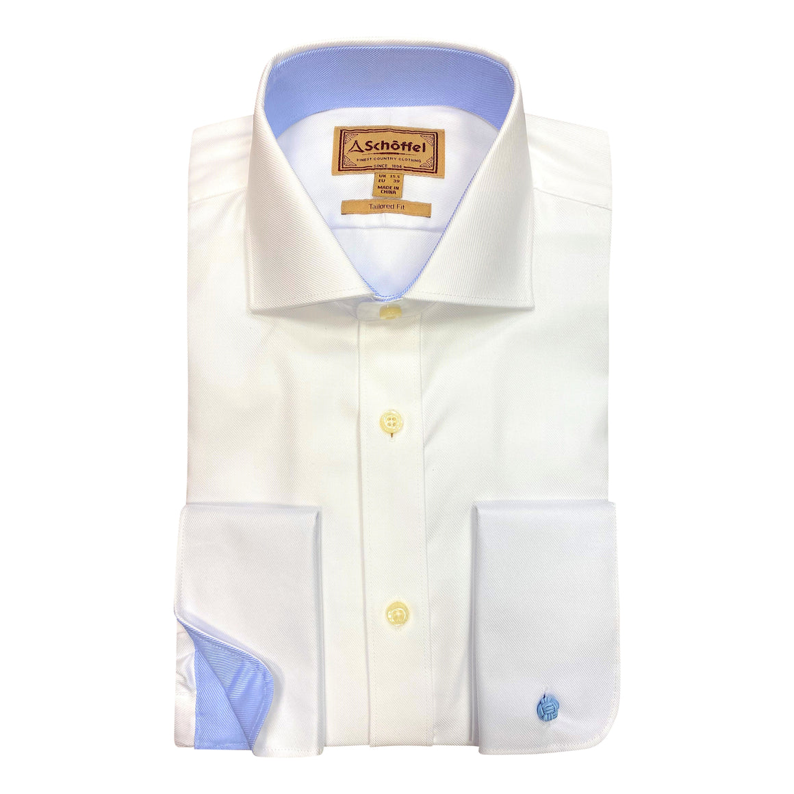 Grenwich Tailored DC Shirt for Men in White