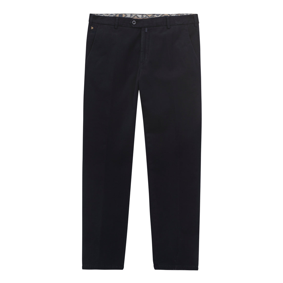 Bonn Luxury Winter Twill Trousers for Men in Navy