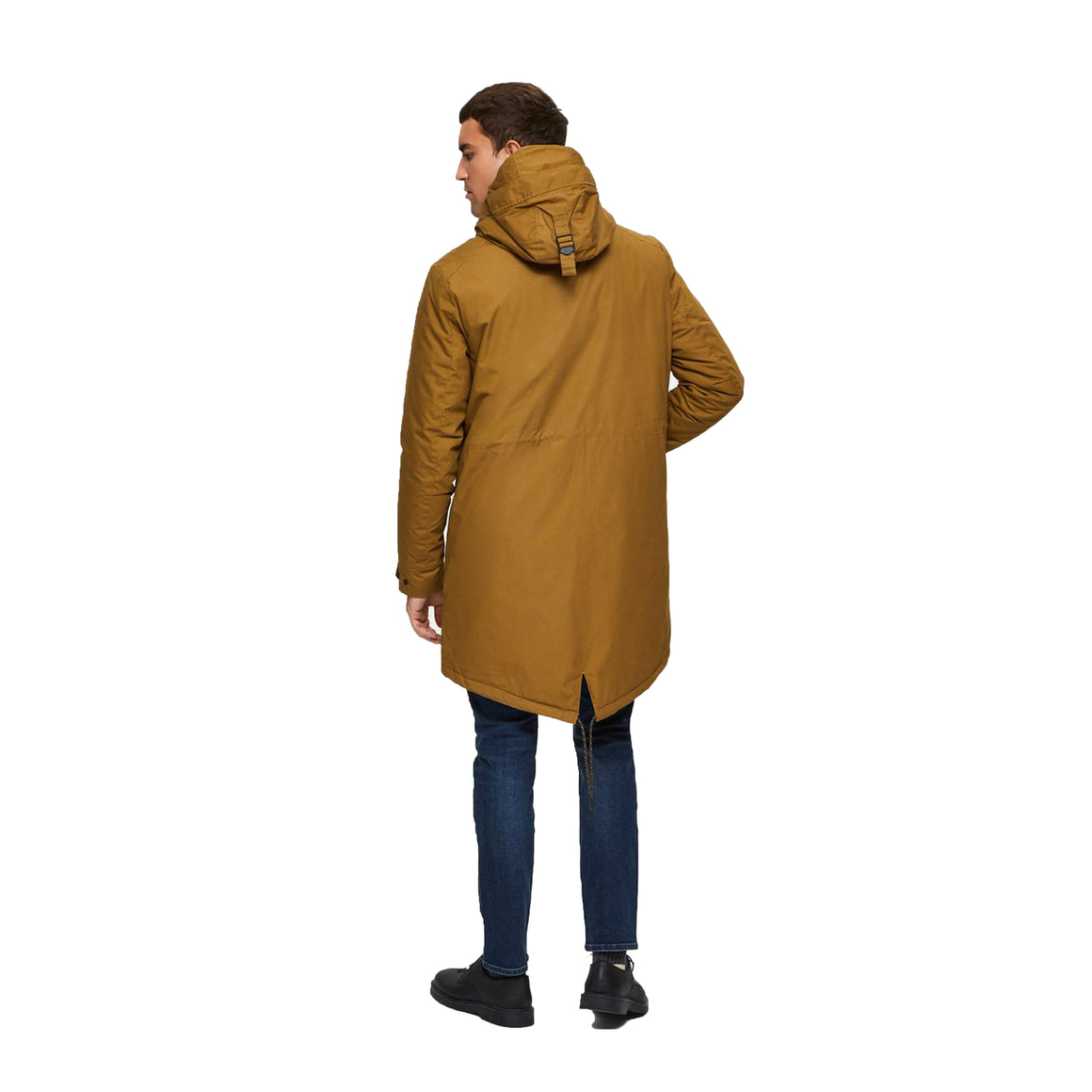 SLH Sustainable Iconics Parka for Men in Butternut