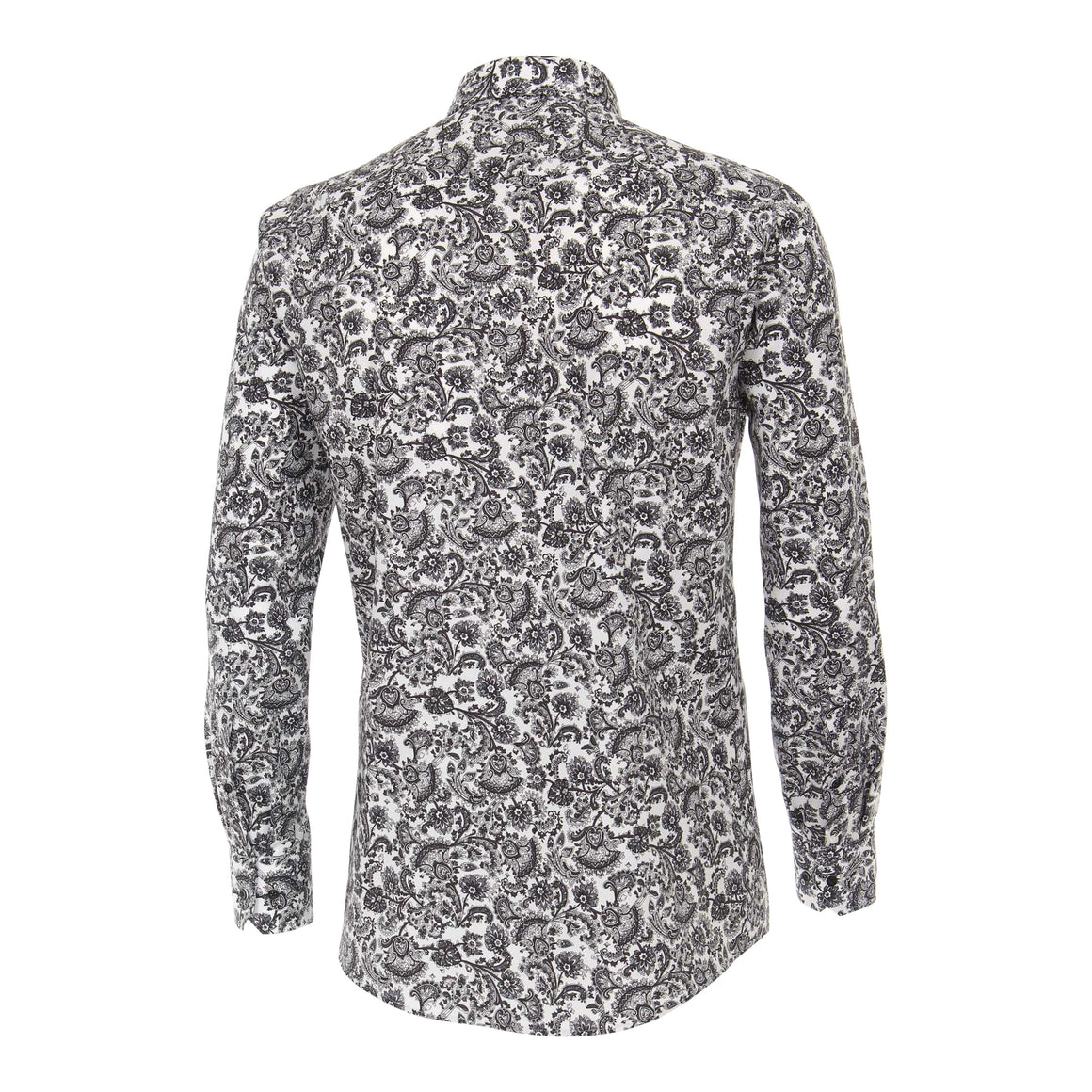 Paisley Shirt for Men in Grey