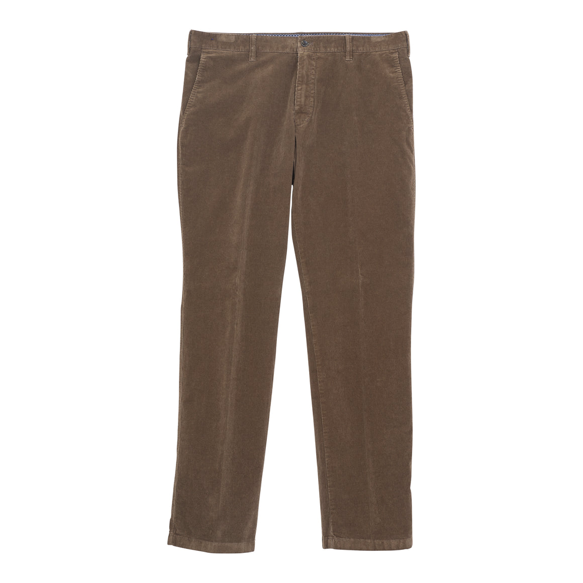 Needlecord Trouser for Men in Chocolate
