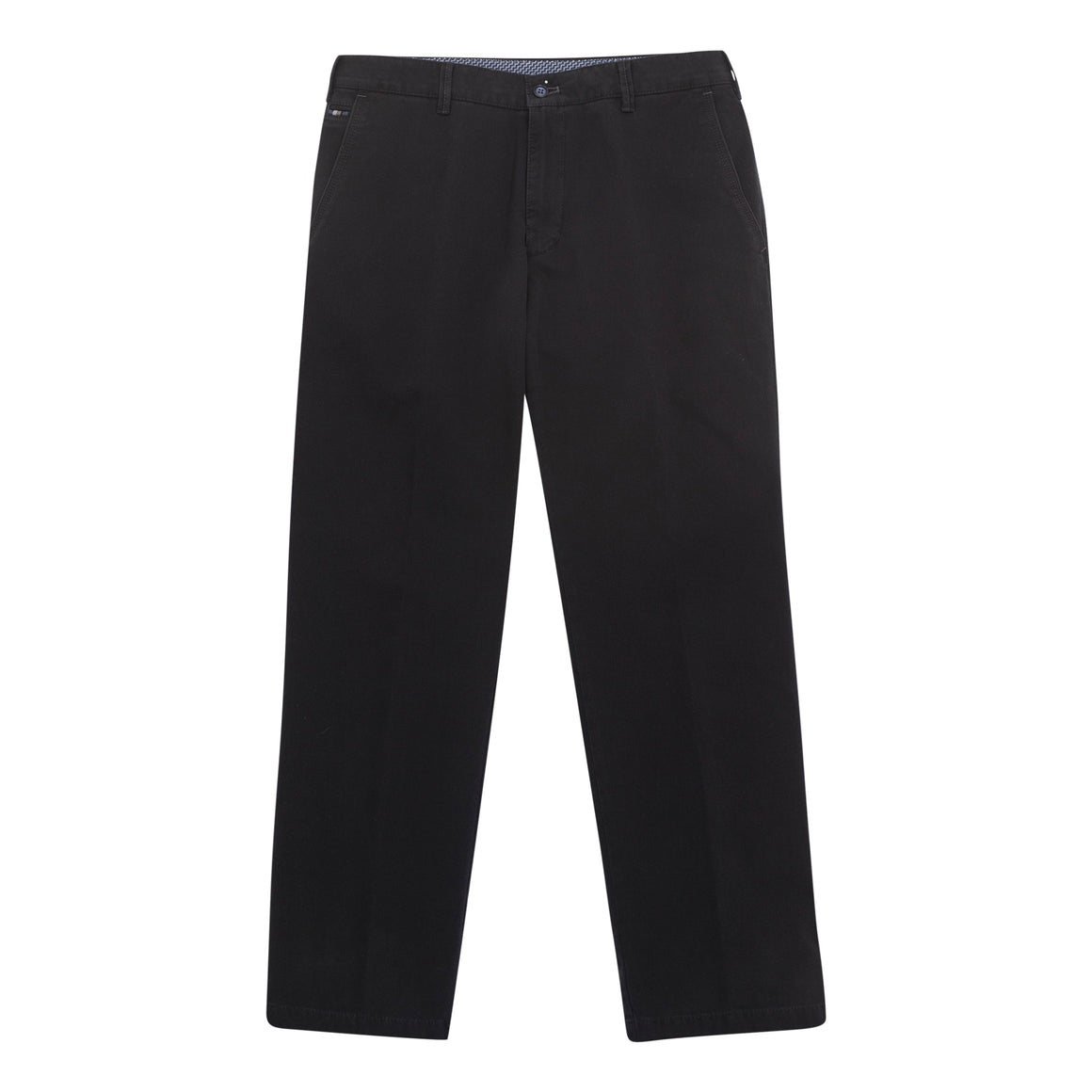 Textured Chino for Men in Black