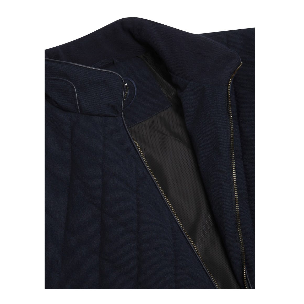 Hardy Quilted Coat for Men in Navy