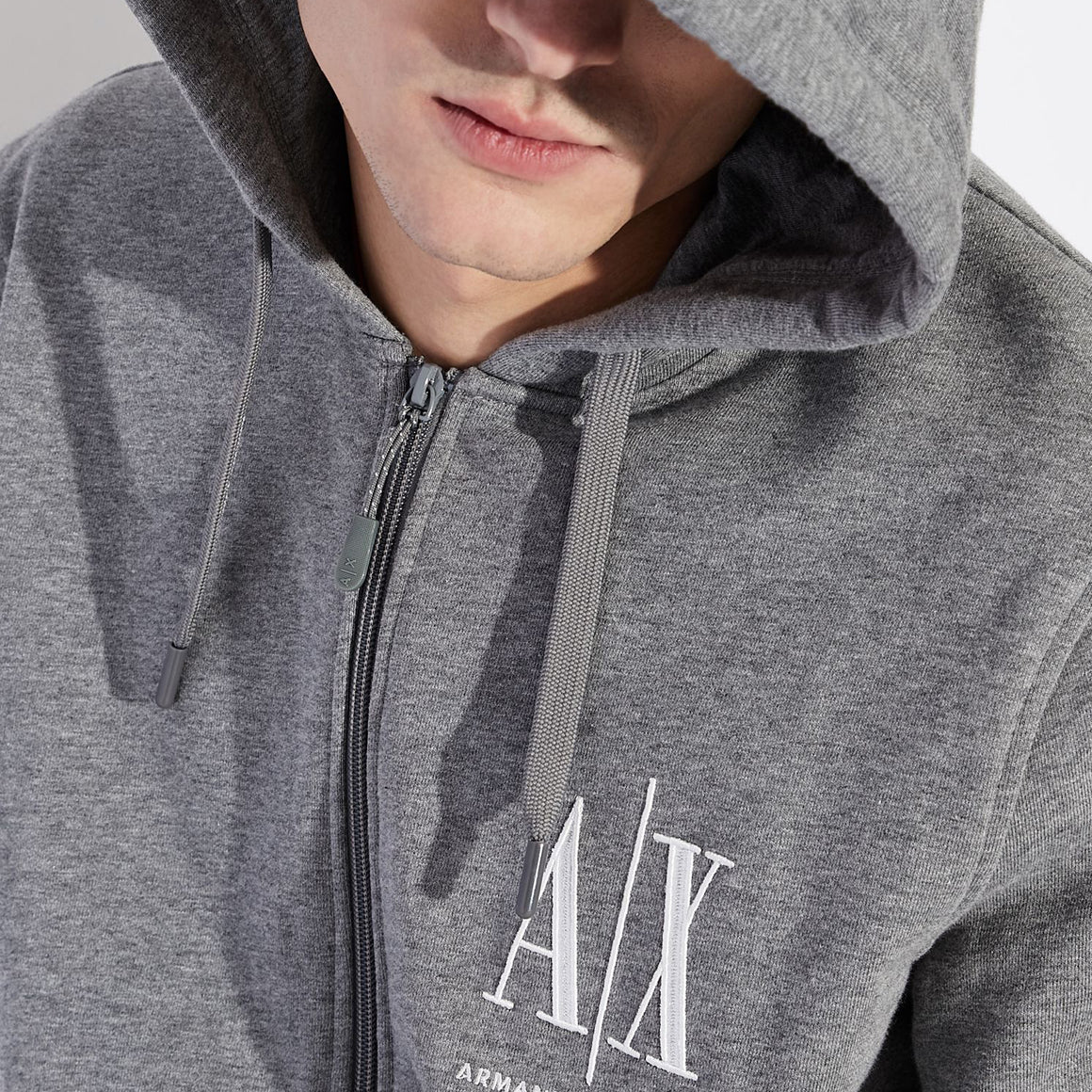 Logo Hoody for Men in Grey