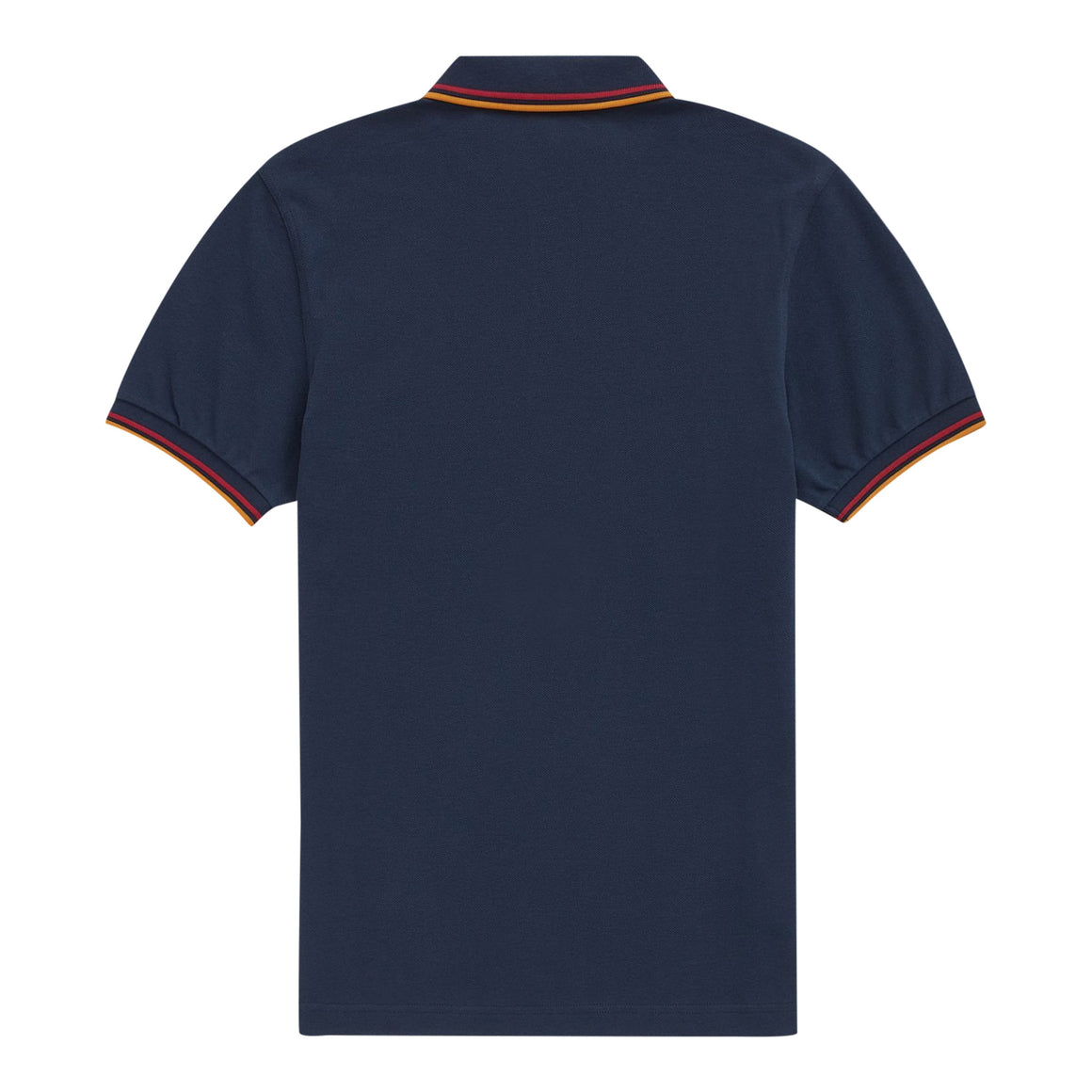 Twin Tipped Polo Shirt for Men in Deep Carbon