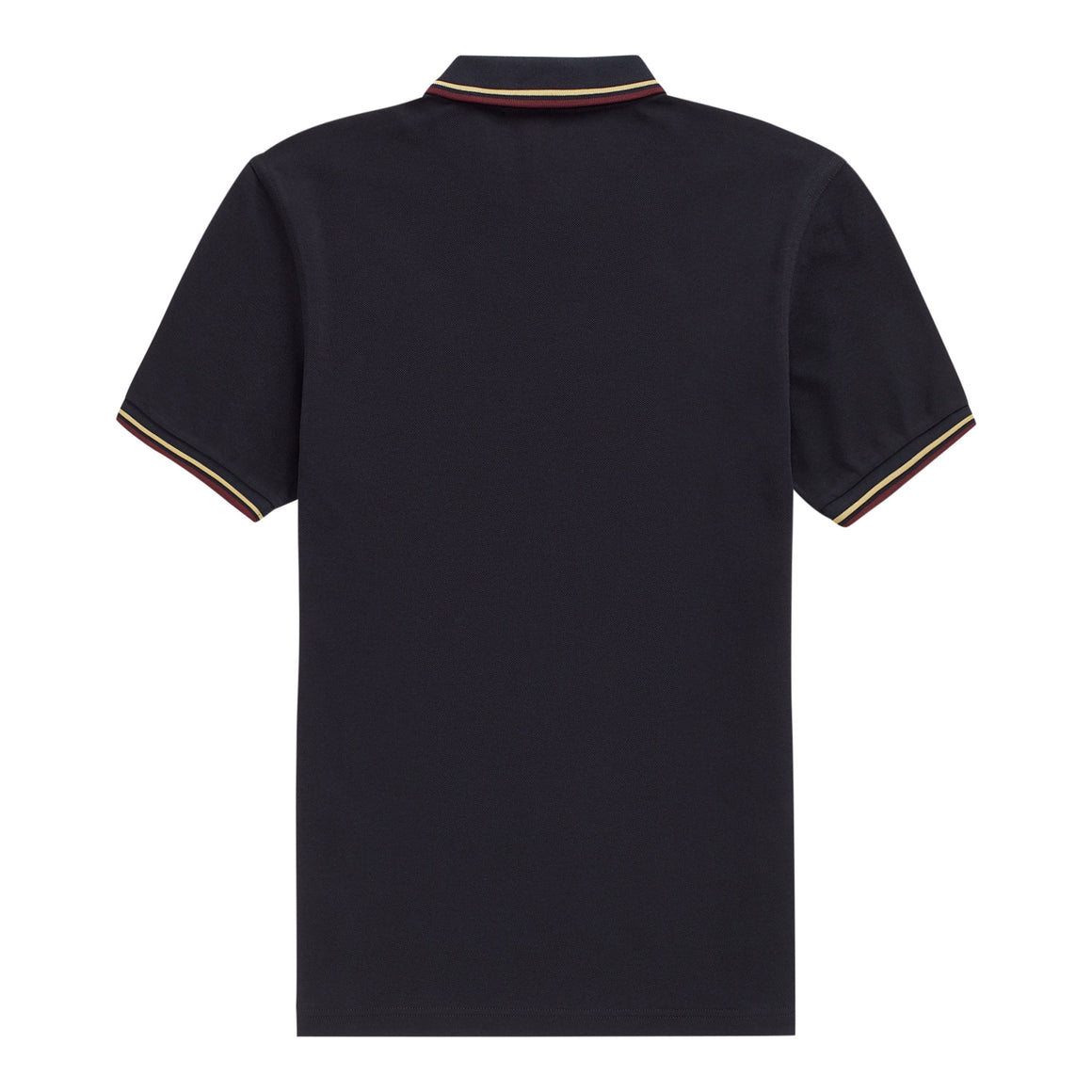 Twin Tipped Polo Shirt for Men in Navy