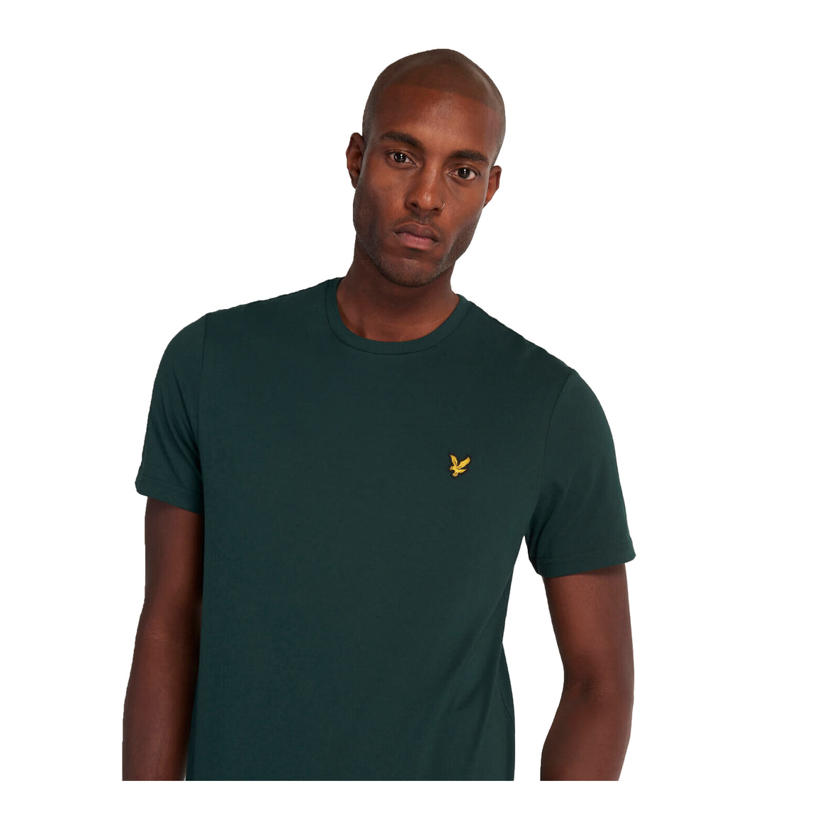 Plain T-Shirt for Men in Green