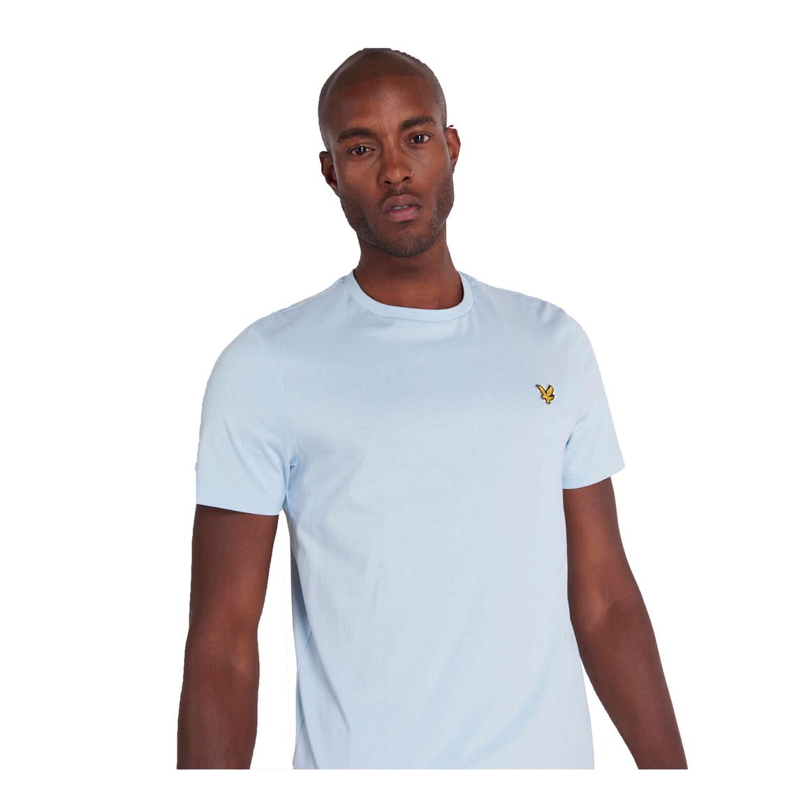 Plain T-Shirt for Men in Sky