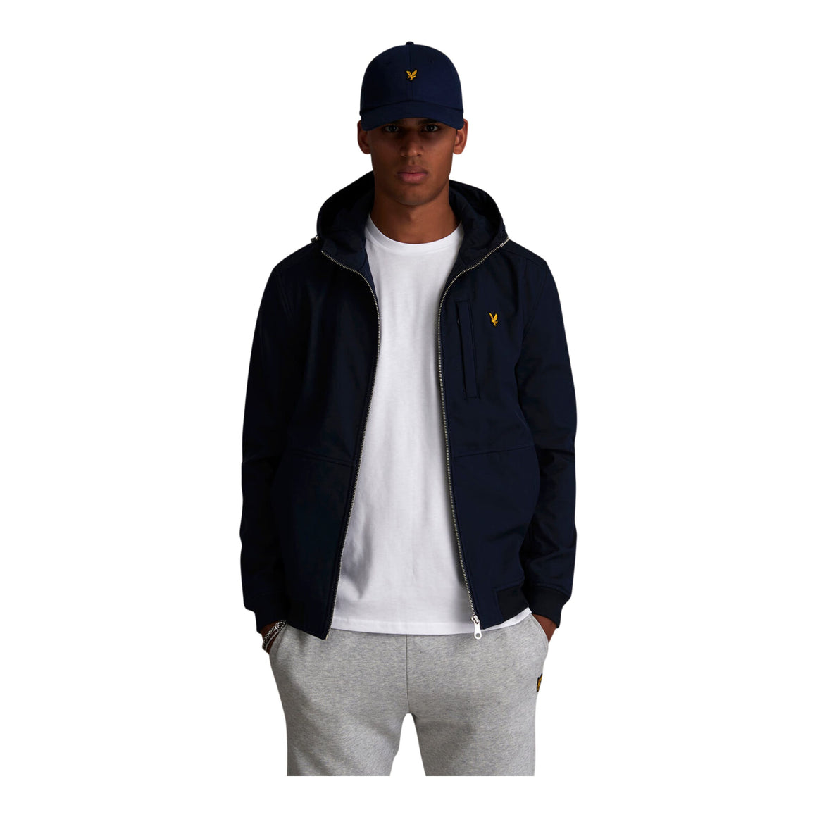 Soft Shell Jacket for Men in Navy