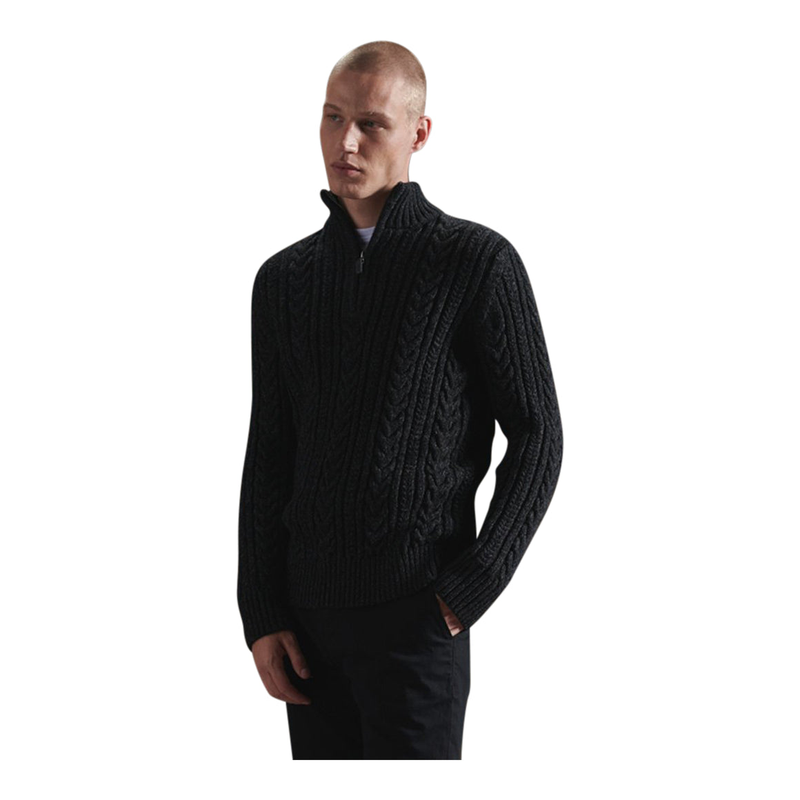 Jacob Henley for Men in Magma Black Twist