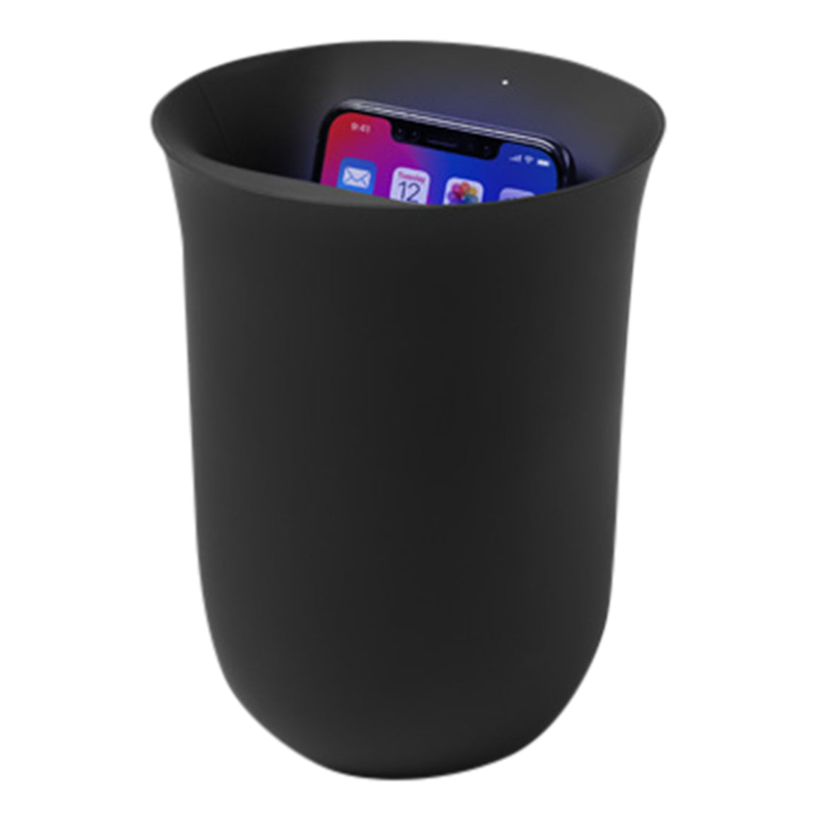 Wireless Charger & UV Santiser in Black