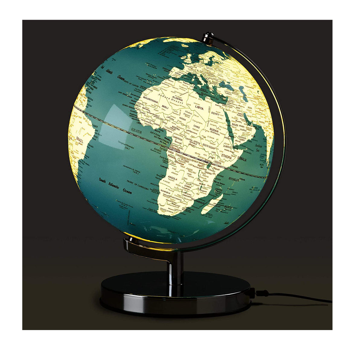 10 Inch Globe Light in French Blue