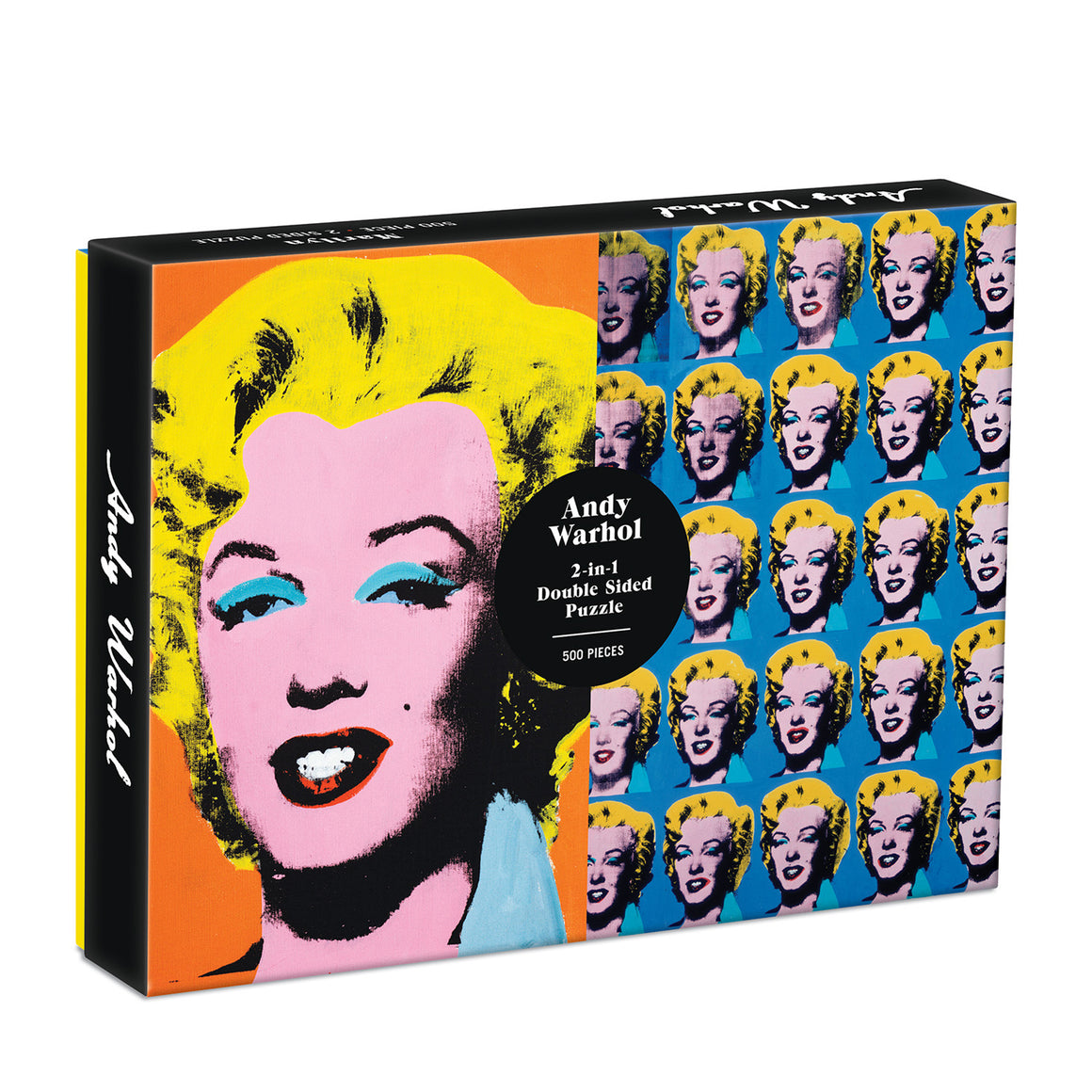 Andy Warhol Marilyn Double Sided 500 Piece Jigsaw Puzzle