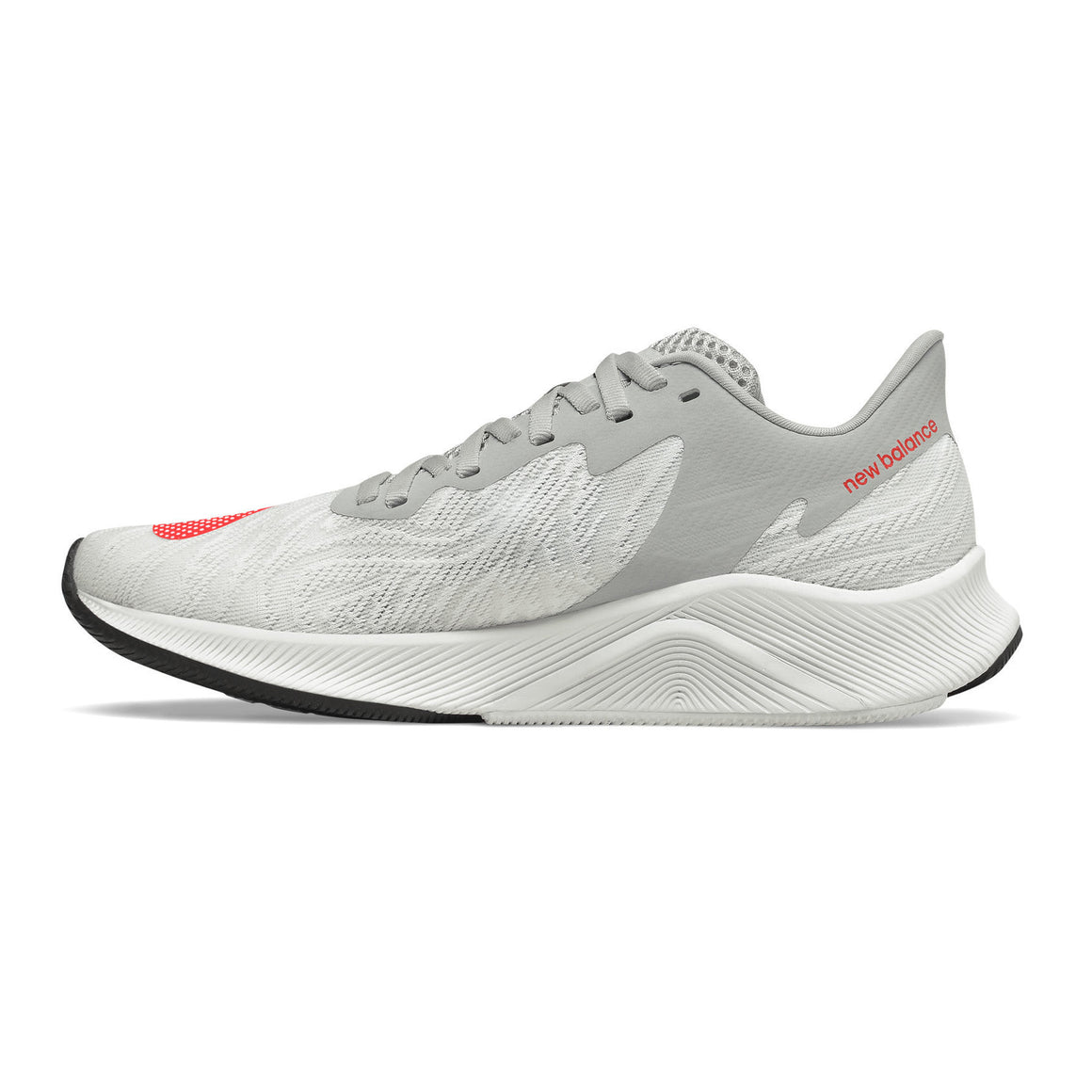 FuelCell Prism EnergyStreak Running Shoe for Women in White with Neo Flame