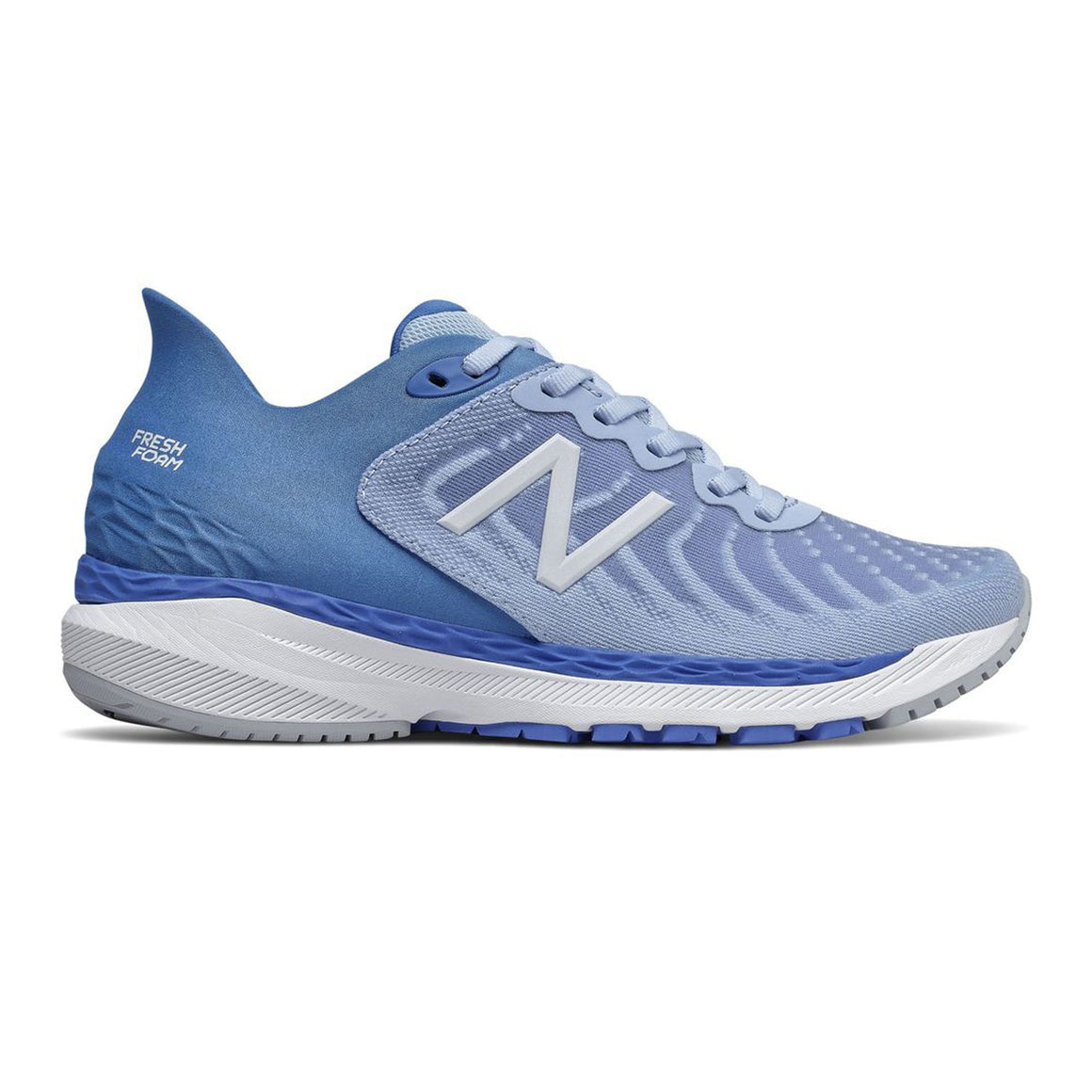860v10 for Women Running Shoe in Team Carolina with Moon Dust