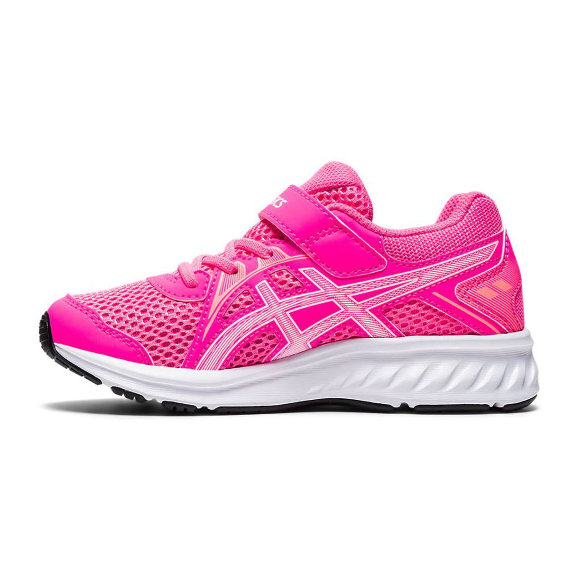 Jolt 2 PS Running Shoes for Kids in Hot Pink/White