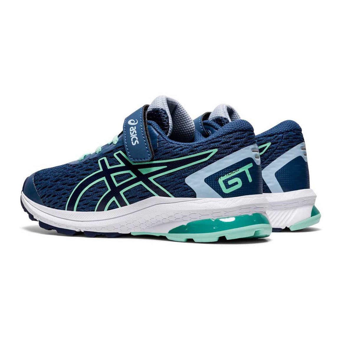 GT 1000 9 PS Running Shoes for Kids in Blue & Navy