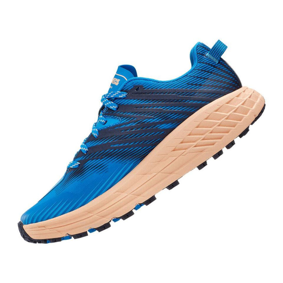 Speed Goat Running Shoes for Women in Indigo & Apricot
