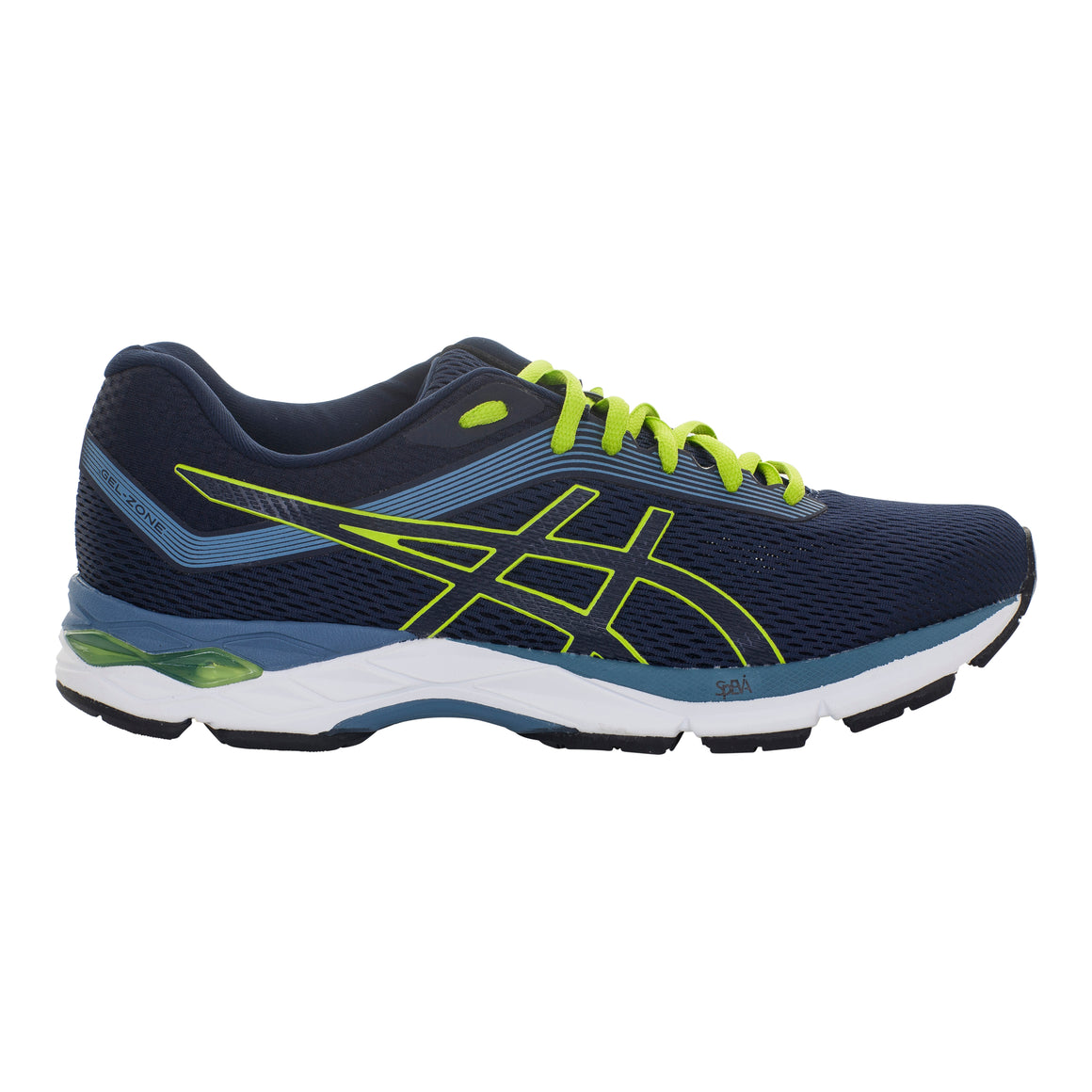 Gel-Zone 7 Running Shoes for Men in Grey Floss/Lime Zest