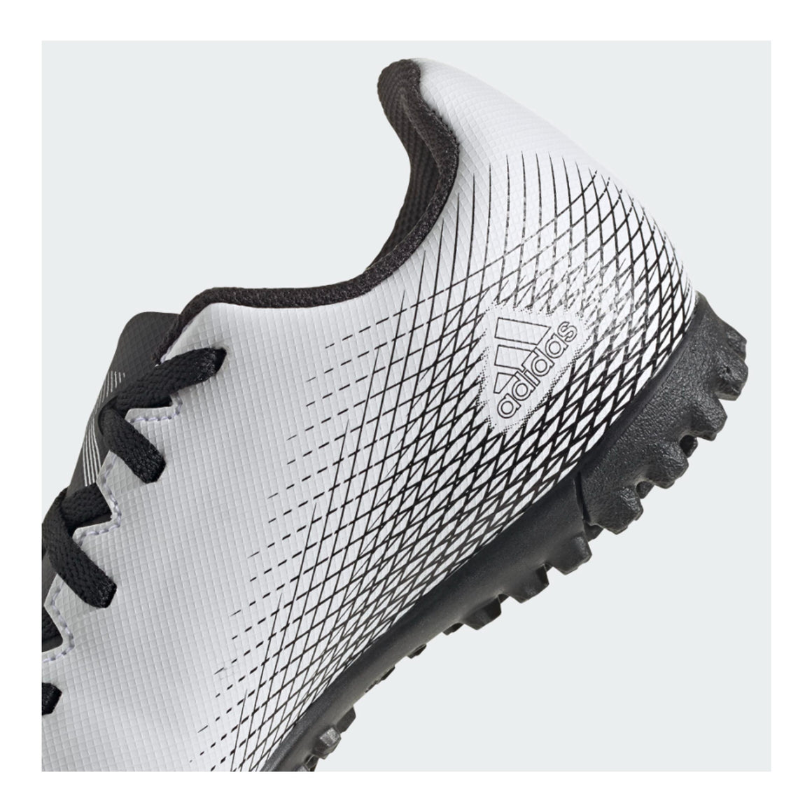 X Ghosted.4 Turf Boots for Kids in White