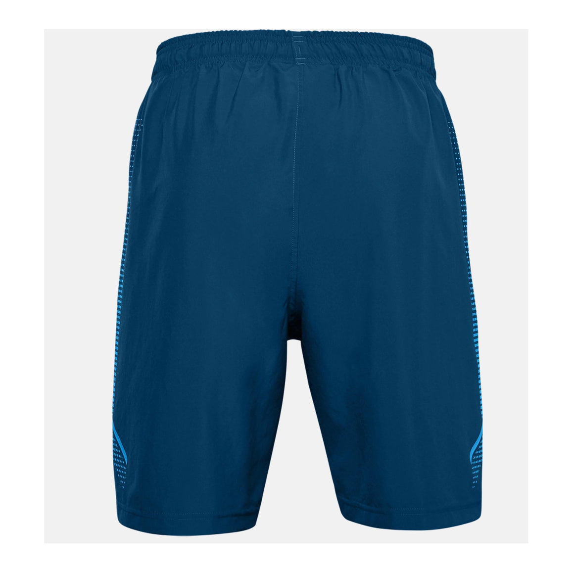 Woven Graphic Shorts for Men in Blue
