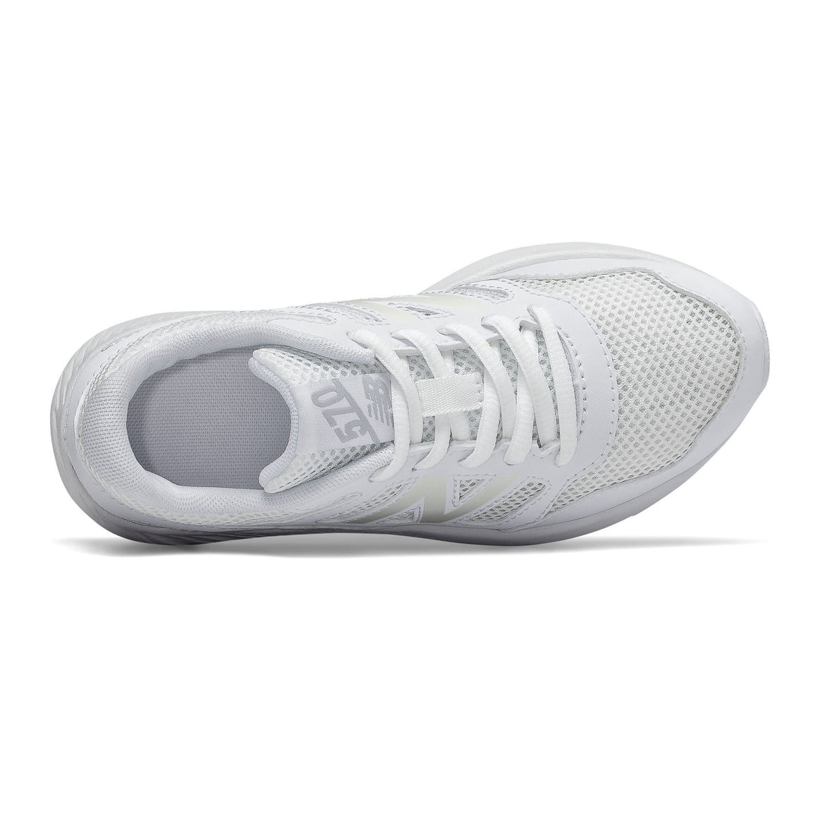 570 Running Shoes for Older Kids in White