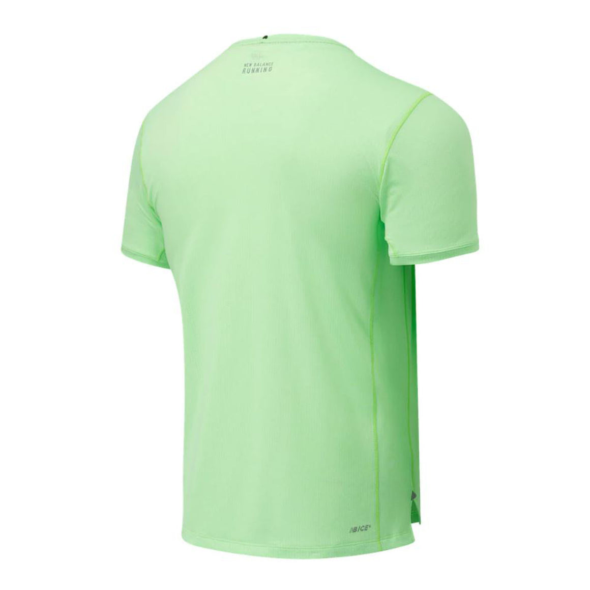 Impact Run Short Sleeve Running Tee for Men in Energy Lime