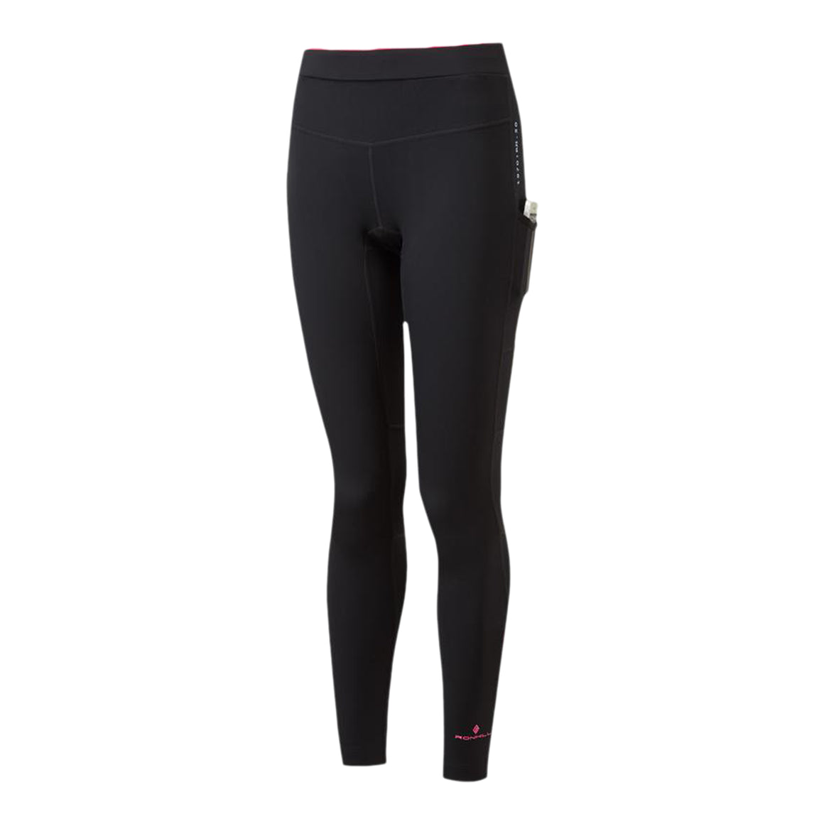 Tech Revive Stretch Tight for Women in Black/Hot Pink