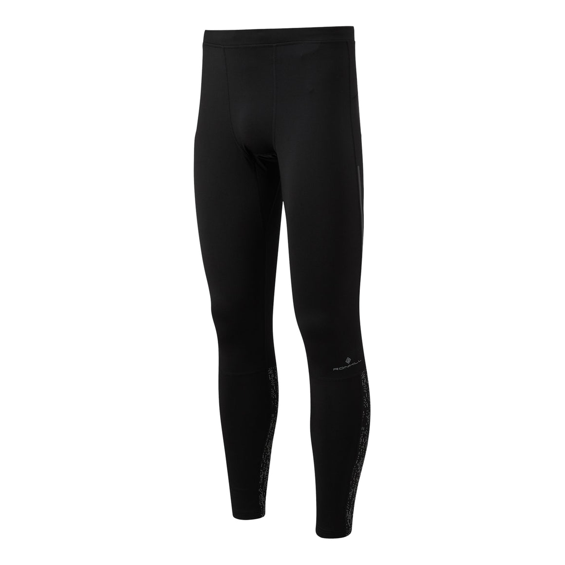 Life Night Runner Tight for Men in Black Reflect