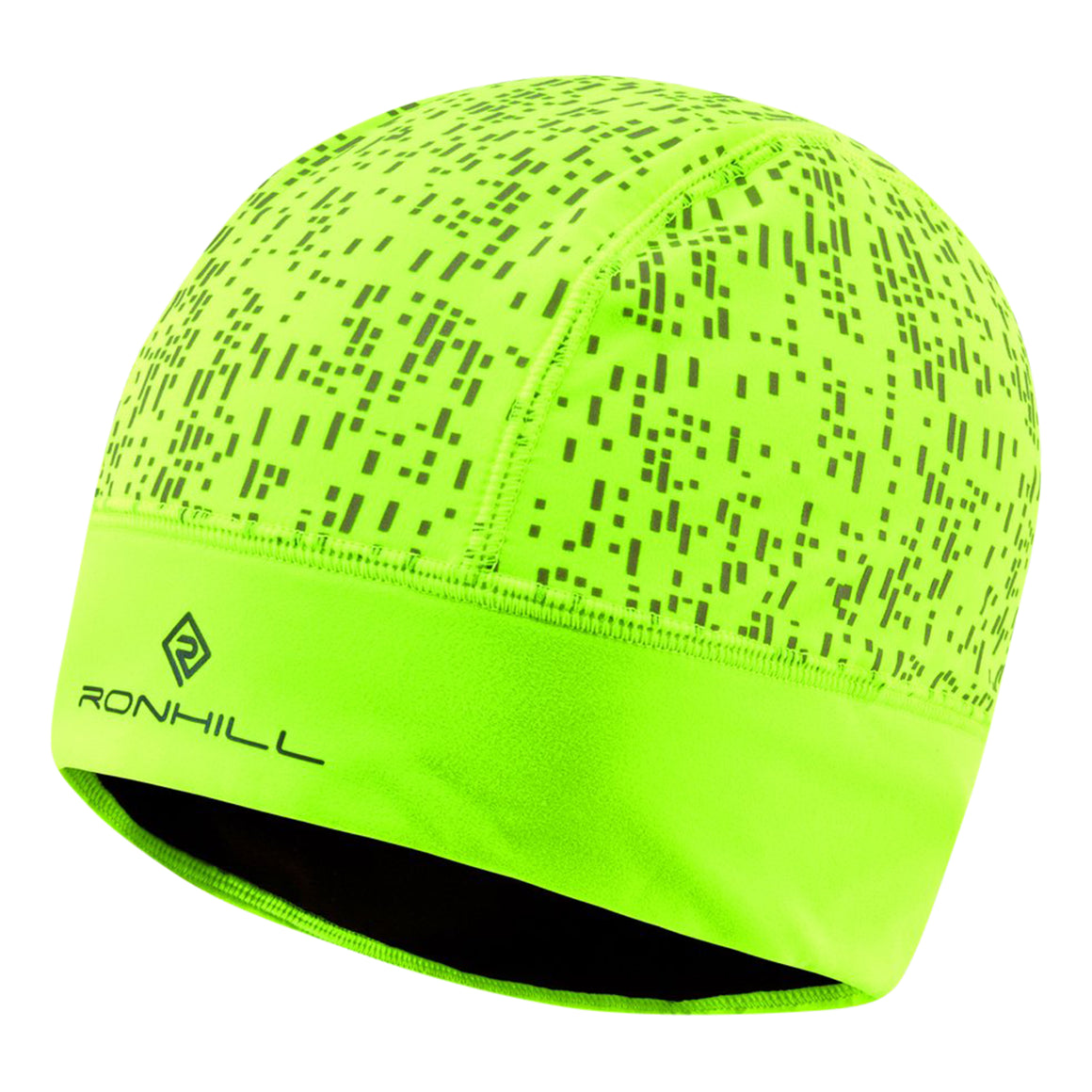 Nightrunner Beanie Hat for Adults in Fluo Yellow/Reflect