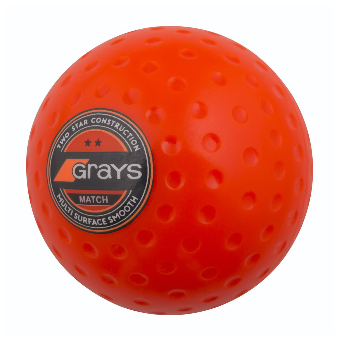 Match Hockey Ball in Orange