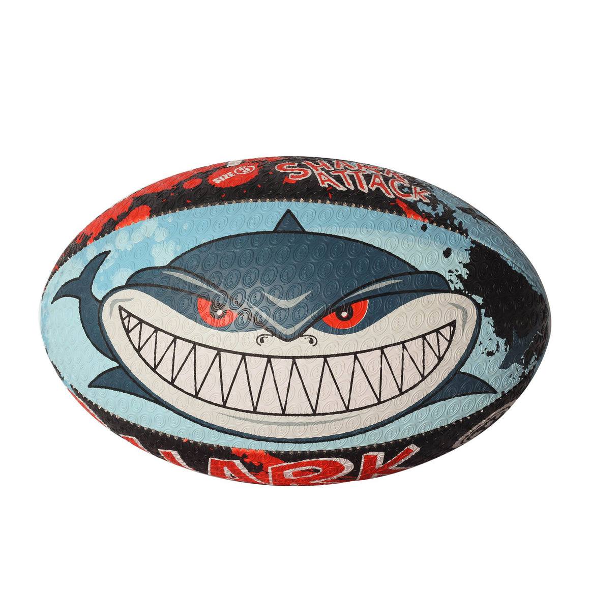 Shark Attack Rugby Ball