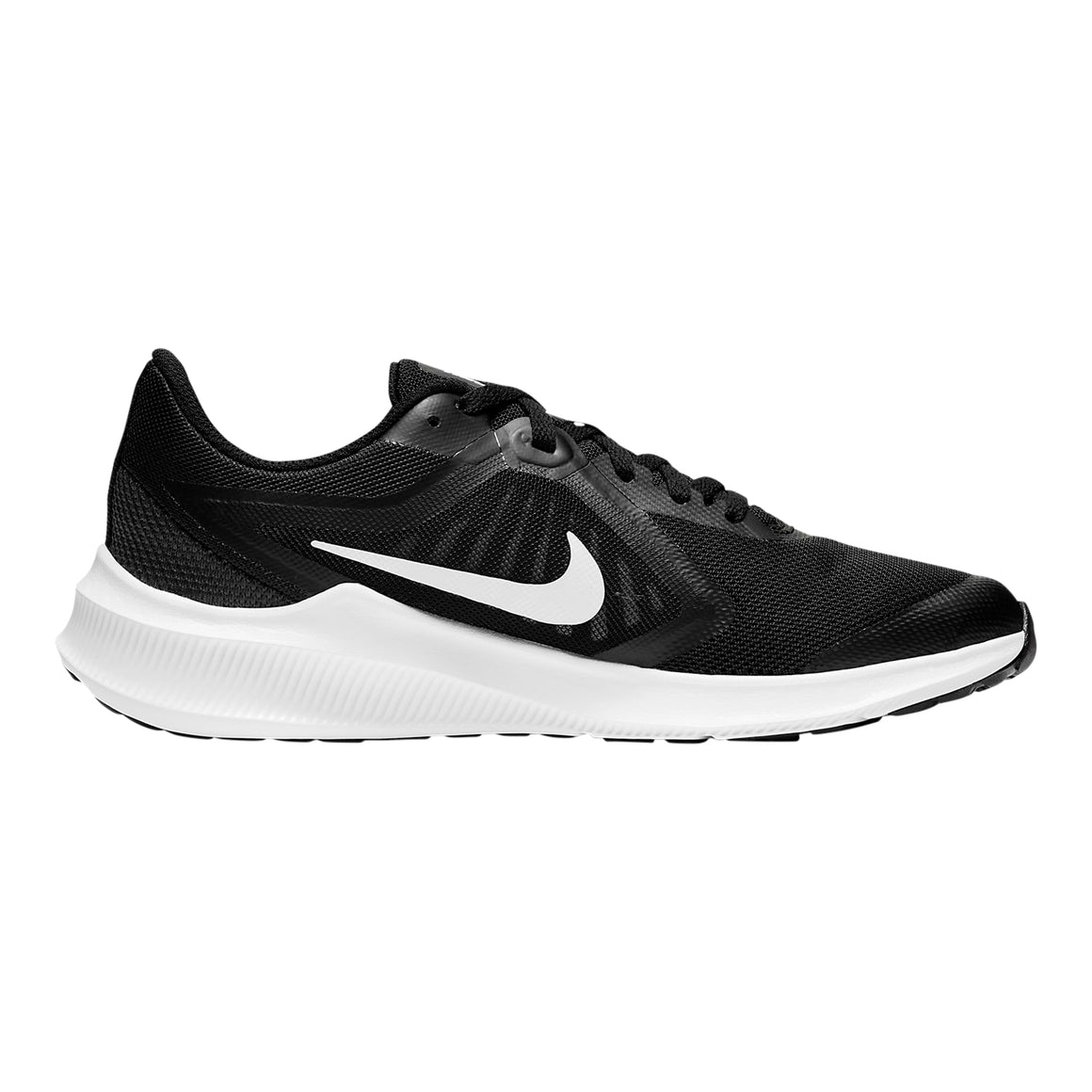 Downshifter 10 Running Shoes for Older Kids in Black/White-Anthracite