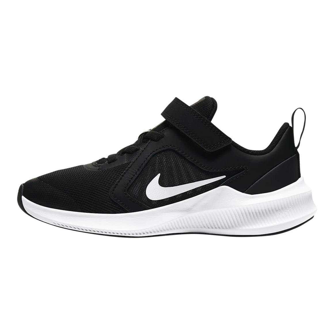 Downshifter 10 Running Shoes for Younger Kids in Black/White-Anthracite