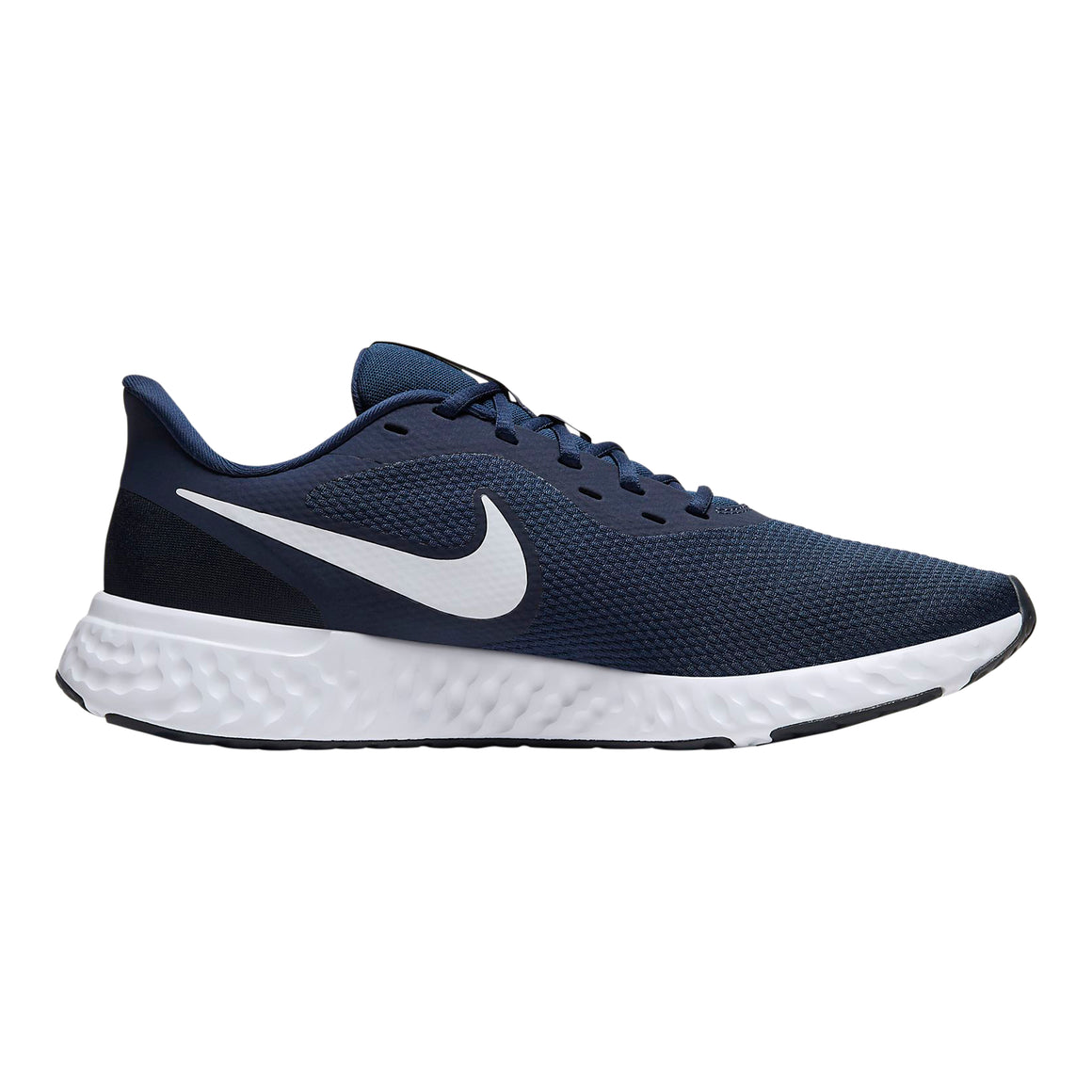 Revolution 5 Running Shoes for Men in Midnight Navy/White-Dark Obsidian