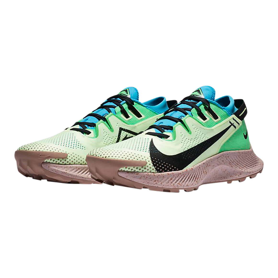 Pegasus Trail 2 for Men in Barely Volt/Black-Laser Blue