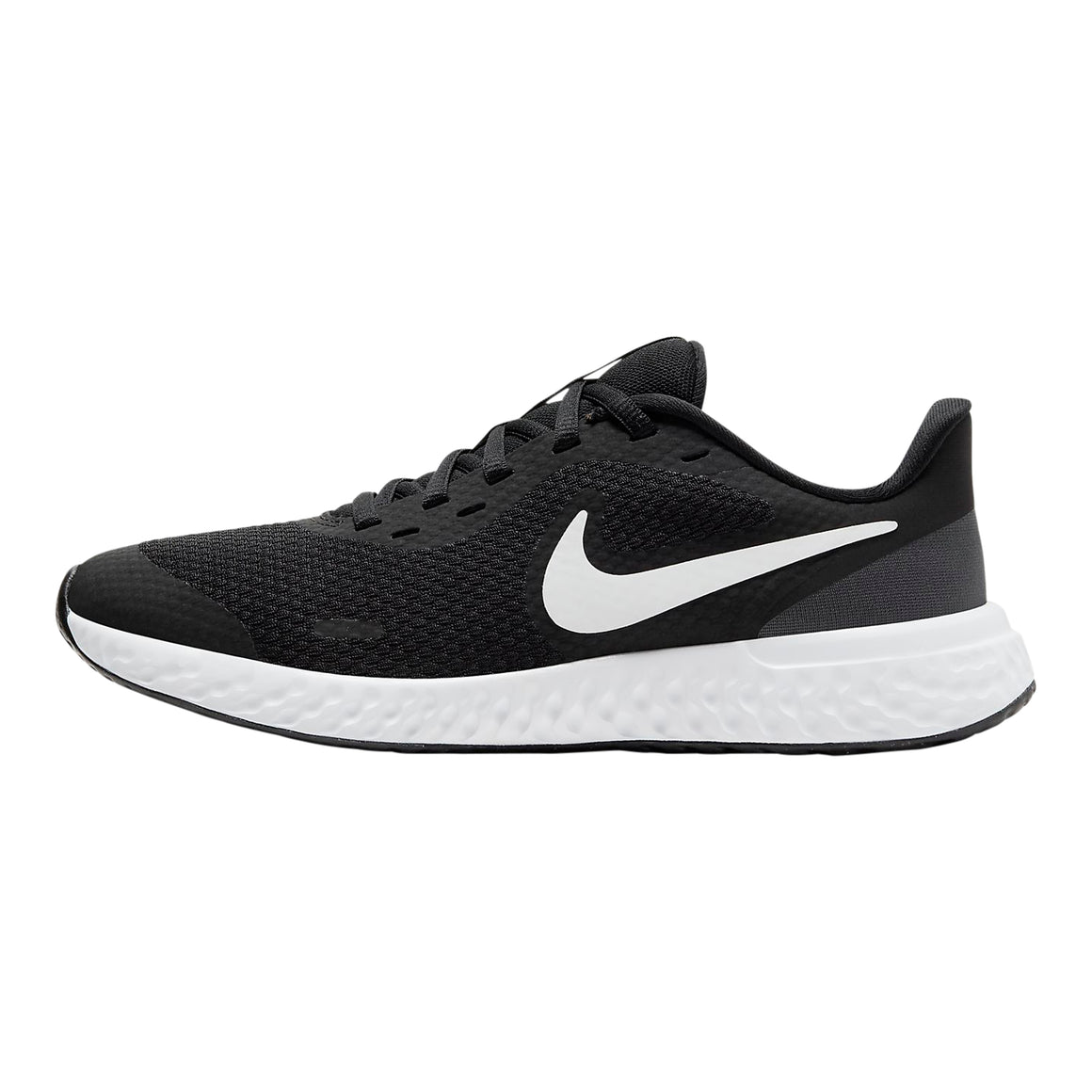 Revolution 5 Running Shoes for Older Kids in Black/White