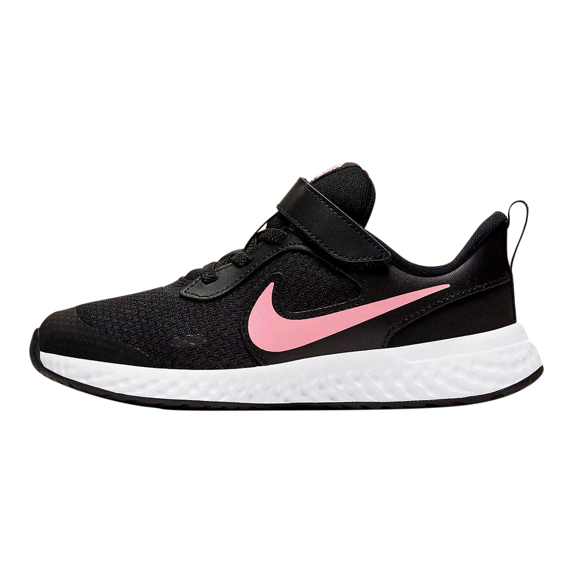 Revolution 5 Running Shoes for Younger Kids in Black/Sunset Pulse
